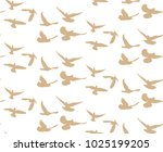 vector  seamless background ... | Shutterstock .eps vector #1025199205