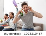 image of young bachelors... | Shutterstock . vector #1025210467