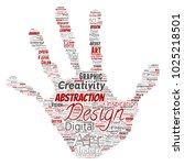 vector conceptual creativity... | Shutterstock .eps vector #1025218501
