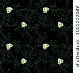 little flowers. seamless... | Shutterstock .eps vector #1025222089