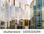 reflection on the exterior of... | Shutterstock . vector #1025224294