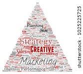 conceptual development business ...   Shutterstock . vector #1025225725