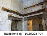 restoration work on an old... | Shutterstock . vector #1025226409