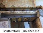 restoration work on an old... | Shutterstock . vector #1025226415
