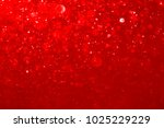 red bokeh abstract background. | Shutterstock . vector #1025229229