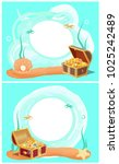 creative photo frames with... | Shutterstock .eps vector #1025242489