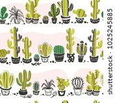 vector seamless pattern with...   Shutterstock .eps vector #1025245885