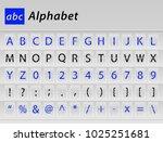 abc english alphabet table... | Shutterstock .eps vector #1025251681