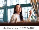 little weakness. beautiful... | Shutterstock . vector #1025261821