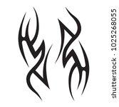 tattoos ideas designs   tribal... | Shutterstock .eps vector #1025268055
