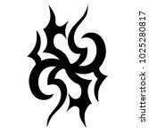 tattoos ideas designs   tribal... | Shutterstock .eps vector #1025280817