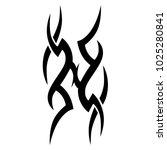 tattoo tribal vector design....   Shutterstock .eps vector #1025280841