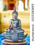buddha statue used as amulets... | Shutterstock . vector #1025283895