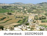 landscape of terraced fields at ... | Shutterstock . vector #1025290105