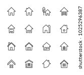 house icon related to real... | Shutterstock .eps vector #1025296387