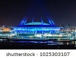 saint petersburg  russia  ... | Shutterstock . vector #1025303107