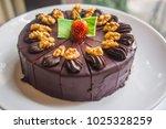 Tasty Chocolate Cake Topped...