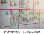 a blur image of many note  ... | Shutterstock . vector #1025328505