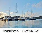 saint paul parish   antigua and ... | Shutterstock . vector #1025337265