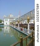 amritsar  punjab  india  april...   Shutterstock . vector #1025337589