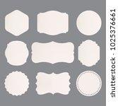 set of premium label for design ... | Shutterstock .eps vector #1025376661