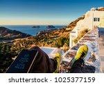milos  greece  november 23 ...   Shutterstock . vector #1025377159