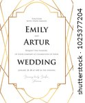 wedding invite  invitation save ... | Shutterstock .eps vector #1025377204