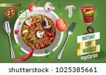 vector realistic illustration... | Shutterstock .eps vector #1025385661