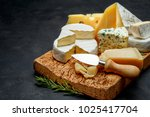 various types of cheese  ...   Shutterstock . vector #1025417704