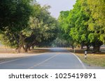 road to mountain.   Shutterstock . vector #1025419891