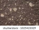 Small photo of Stony road surface texture. Beachy roadway surface. Drive full of stones. Ironbound of forest drive-way. Rocky skin of timber drive. Stony ride idle screen. Background image of tophaceous footpath.