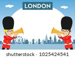 London Skyline With Funny...