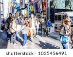 new york city  usa   october 28 ... | Shutterstock . vector #1025456491