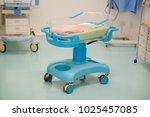 hospital crib hospital medical... | Shutterstock . vector #1025457085