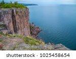 lake superior cliffs hundred...   Shutterstock . vector #1025458654