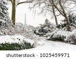 urban landscape showing the... | Shutterstock . vector #1025459971