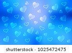 light blue vector background... | Shutterstock .eps vector #1025472475