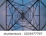 vertical upward angle of... | Shutterstock . vector #1025477707