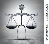 legal medicine and malpractice... | Shutterstock . vector #1025500231