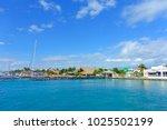 isla mujeres  mexico  january...   Shutterstock . vector #1025502199
