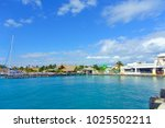 isla mujeres  mexico  january...   Shutterstock . vector #1025502211