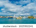 isla mujeres  mexico  january...   Shutterstock . vector #1025502241