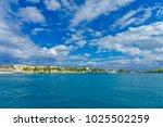 isla mujeres  mexico  january... | Shutterstock . vector #1025502259