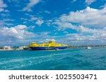 isla mujeres  mexico  january...   Shutterstock . vector #1025503471
