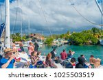 cancun  mexico   january 10 ... | Shutterstock . vector #1025503519
