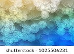 light blue  green vector doodle ... | Shutterstock .eps vector #1025506231
