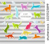 set of multi colored labels for ...   Shutterstock .eps vector #1025525899