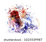 vector color illustration of a... | Shutterstock .eps vector #1025539987