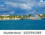 isla mujeres  mexico  january... | Shutterstock . vector #1025541385