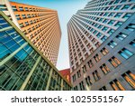 two office buildings in the... | Shutterstock . vector #1025551567